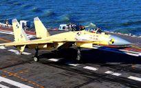 Tiêm kích J-15 rơi, mộng 'biển xanh' của Trung Quốc thêm dài