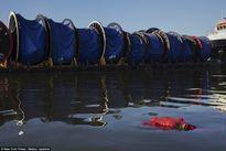 Ghê rợn với hình ảnh xác chết nổi trên hồ thi Olympic 2016
