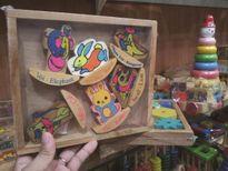 Đồ chơi bằng gỗ cũng chứa đầy chất độc