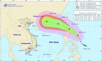 Áp thấp nhiệt đới đã thành bão, áp sát biển Đông