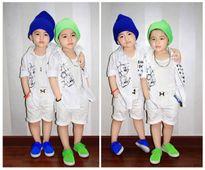 Loạt ảnh đáng yêu như thiên thần của cặp song sinh Việt khiến bạn phải ngắm nhìn