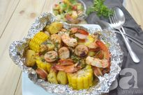 Tôm bọc giấy bạc – món ngon hoàn hảo cho buổi picnic cuối tuần