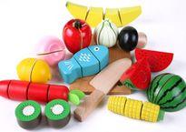 Đồ chơi bằng gỗ giá rẻ phủ màu độc hại 'uy hiếp' người dùng