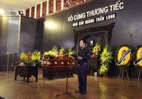 Lời cảm ơn của Ban tổ chức lễ tang nhà báo Hoàng Long