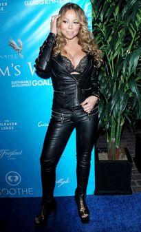 Mariah Carey gợi cảm trong bữa tiệc của Liên hiệp quốc