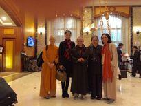 Trương Thị May thành tâm hướng đạo mong bình an cho thế giới