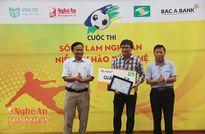 Trao giải đợt 4 cuộc thi 'Sông Lam Nghệ An - niềm tự hào xứ Nghệ'