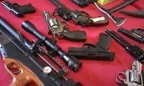 Công an Hà Nội triệt phá ổ nhóm tội phạm, thu nhiều súng đạn