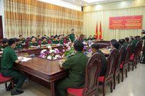 Đoàn nghiên cứu chiến lược Quân đội Hoàng gia Campuchia làm việc tại Nghệ An