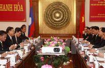 Phó Chủ tịch Quốc hội Lào thăm làm việc tại tỉnh Thanh Hóa