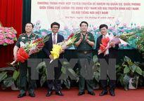 Đẩy mạnh phối hợp tuyên truyền về nhiệm vụ quân sự, quốc phòng