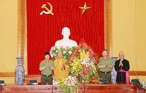 Đại diện các tổ chức tôn giáo tại Việt Nam thăm, chúc mừng lực lượng CAND