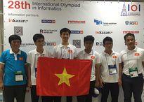 Việt Nam đoạt 2 Huy chương Vàng tại kỳ thi Olympic Tin học quốc tế năm 2016