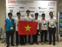 Việt Nam giành 4 huy chương Olympic Tin học quốc tế