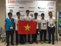 Việt Nam giành 2 Huy chương Vàng Olympic Tin quốc tế