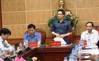 Phó Thủ tướng Vũ Đức Đam làm việc tại Thanh Hóa: Sẵn sàng mọi phương án ứng phó bão số 3
