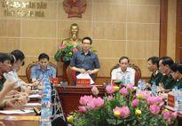 Phó Thủ tướng Vũ Đức Đam kiểm tra phòng chống bão tại Thanh Hóa