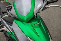 """Honda Air Blade Việt độc đáo với """"dàn áo"""" Kawasaki Z1000"""