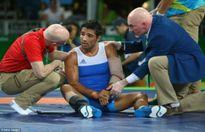 Thêm một pha chấn thương nghiêm trọng tại Olympic Rio 2016