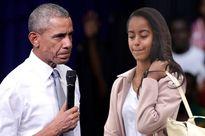 Tổng thống Obama 'nổi giận' khi con gái hút cần sa nơi công cộng