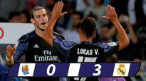 Bale lập cú đúp trong ngày vắng Ronaldo, Real thắng đậm Sociedad