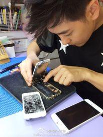 Lâm Chí Dĩnh chụp ảnh cùng iPhone 7 Plus