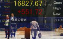 Cố phiếu châu Á sụt giảm, đồng USD lên giá