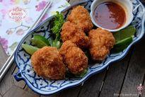 Giòn rụm hấp dẫn món bánh tôm chiên kiểu Thái