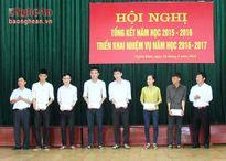 Nghĩa Đàn: 9 em đạt học sinh giỏi Quốc gia