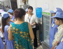 Cần nhân rộng mô hình vắt sữa cho lao động nữ