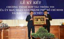 VOV và UBND TP HCM ký kết hợp tác tuyên truyền