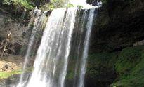Một du khách trượt chân, mất tích ở thác Đam B'ri