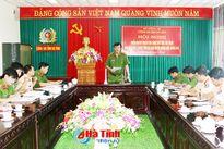 Cao điểm tấn công trấn áp tội phạm tại Hương Sơn, Hương Khê