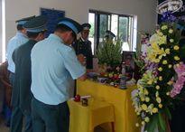 Lễ tang Thiếu úy, phi công theo nghi thức quân đội