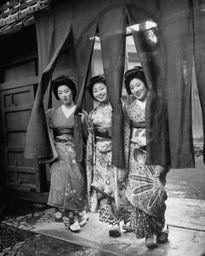 Góc ảnh đẹp những nàng Geisha Nhật Bản năm 1946