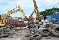 """1.060 container lốp ô tô cũ """"vô chủ"""" tồn đọng ở cảng Hải Phòng"""