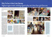 Mùa Vu lan ở chùa Lâm Quang: Nghẹn ngào trước những người phụ nữ chưa bao giờ làm mẹ