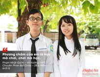 Tự hào những học sinh giỏi xứ Nghệ