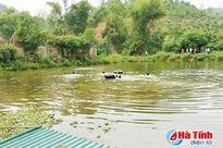 Hà Tĩnh: Dạy con gái tập bơi, hai cha con chết đuối thương tâm