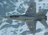 Tìm thấy mảnh vỡ chiến đấu cơ F/A-18 mất tích ở vùng núi Alpes