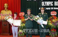 Tuyên dương vận động viên Quân đội dự Olympic Rio