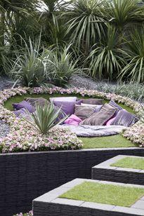 Vườn giản đơn hóa thiên đường nhờ vài mẹo nho nhỏ