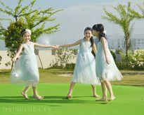 """Những mẫu váy Trung thu đang khiến các mẹ """"phát sốt"""""""