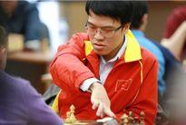 Lê Quang Liêm thắng trận đầu tiên ở Olympiad 2016