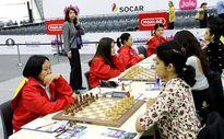 Cờ vua nữ Việt Nam duy trì mạch bất bại tại Olympiad thế giới