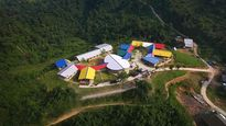 Trường mới đẹp như đóa hoa dành cho trẻ Lũng Luông xúc động dân mạng