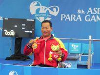 Hạnh phúc đã mỉm cười với nhà vô địch Paralympic Lê Văn Công