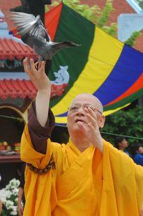 Đại lễ chiêm bái tượng Phật ngọc hòa bình thế giới tại Vĩnh Phúc