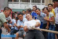 Ngày thi đấu thứ nhất Hội khỏe Hội Nhà báo Thành phố Hà Nội: Đầy sôi nổi và hào hứng
