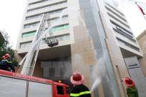 Hà Nội: 1.200 người diễn tập chữa cháy tại tòa nhà Keangnam